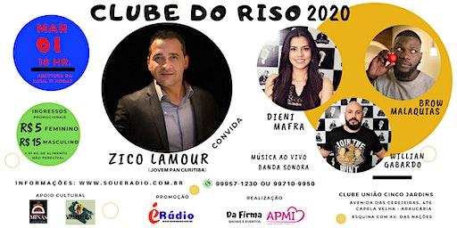 CLUBE DO RISO 2020 - ZICO LAMOUR E CONVIDADOS