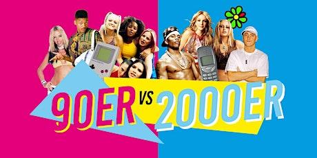 90er vs. 2000er Party // 28. März 2020 Tickets