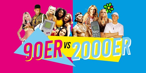 90er vs. 2000er Party // 28. März 2020