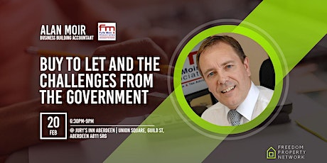 BUY TO LET TAX AND THE CHALLENGES FROM THE GOVERNMENT tickets
