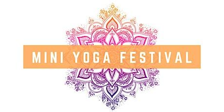 Mini Yoga Festival tickets