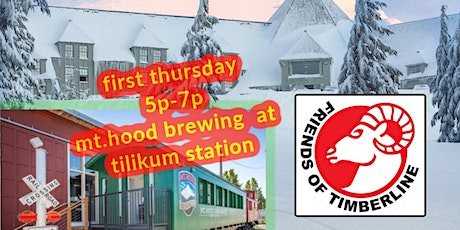 First Thursday with Friends of Timberline tickets