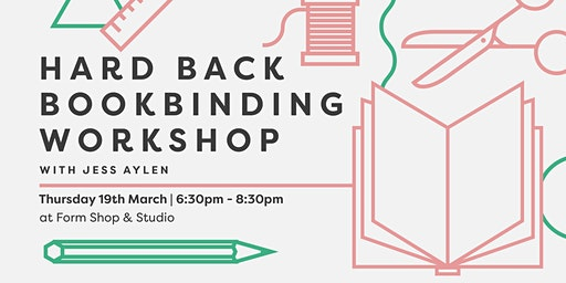 Hard Back Book Binding Workshop