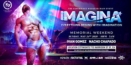 IMAGINA-The EXERIENCE WEEKEND Main Event tickets