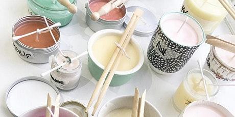 Poured Candle Making with Darn It Workshops tickets