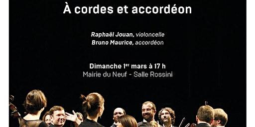 """Paris Mozart Orchestra """"À cordes et accordéon"""" - Dimanche 1er mars"""