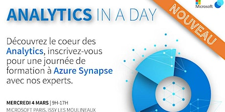#2 Analytics In a Day - Workshop Microsoft Synapse billets