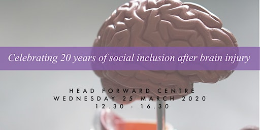 Celebrating 20 years of social inclusion after brain injury