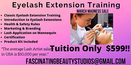 BE YOUR OWN BOSS LASH CLASS tickets