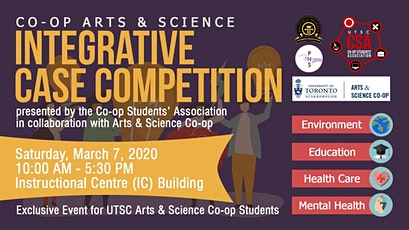 Co-op Arts and Science Integrative Case Competition tickets
