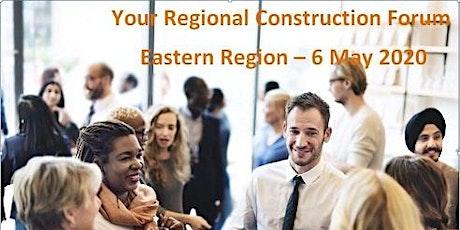 Regional Construction Forum - Eastern tickets
