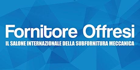 Internazionalizzazione delle PMI - Fornitore Offresi 2020 biglietti