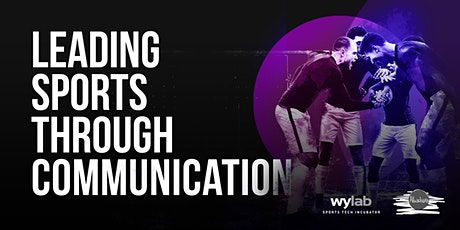 Leading sports through communication biglietti