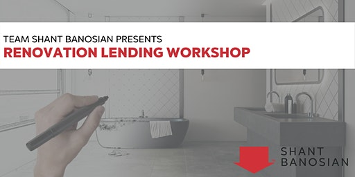 Renovation Financing Workshop