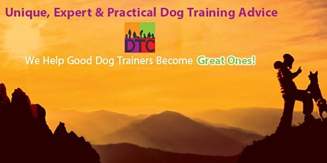 DTC POP-UP WEBINAR - LIMA in PROFESSIONAL DOG TRAINING tickets
