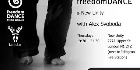 freedomDANCE @ New Unity with Alex Svoboda tickets