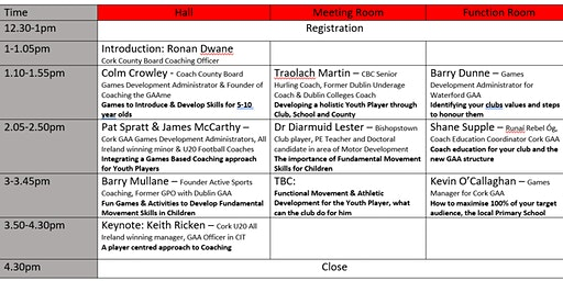 Rebel Óg Coaching Conference