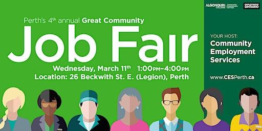 JOB FAIR: 20+ businesses are hiring!