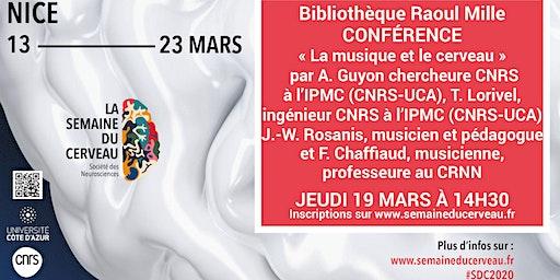 Conférence :  « La musique et le Cerveau »