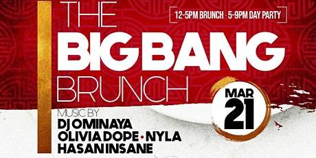 THE BIG BANG BRUNCH tickets