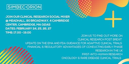 Clinical Research - Social Mixer