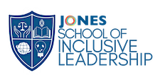 The JONES School of Inclusive Leadership logo