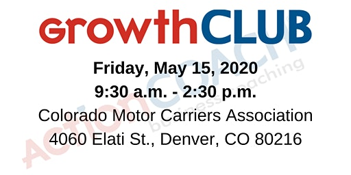 ActionCOACH's GrowthCLUB Workshop