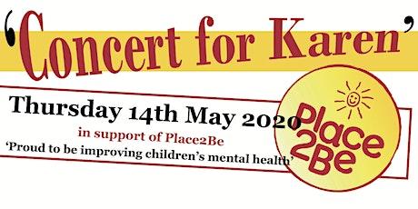 Concert for Karen tickets