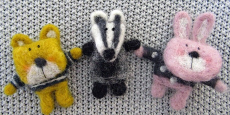 Needle Felting | Furry Friends Badges tickets