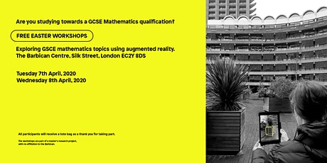 GCSE Mathematics >> 3D Geometry and Augmented Reality >> Free Workshops tickets