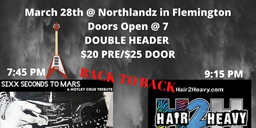 SSTM & HAIR 2 HEAVY - ROCK TOUR - DOUBLE HEADER