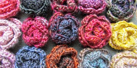 Beginners Crochet | Roses in 2 Rows tickets