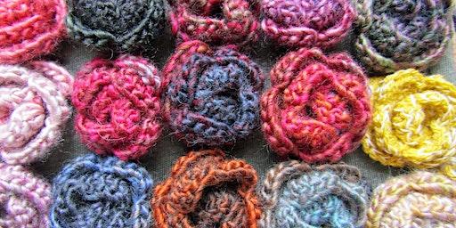 Beginners Crochet | Roses in 2 Rows