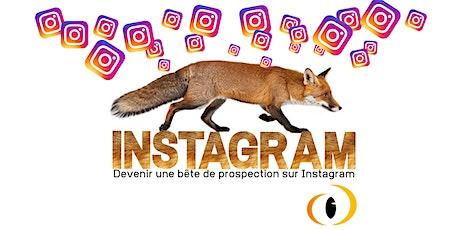 """M10 Formation """"Prospecter par Instagram"""" billets"""