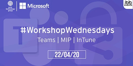 #WorkshopWednesdays - 03 tickets