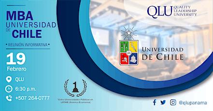 Reunión Informativa - MBA de la Universidad de Chile  entradas