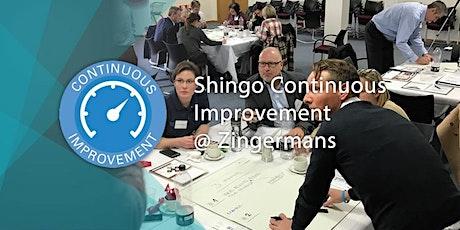 Shingo Continuous Improvement tickets