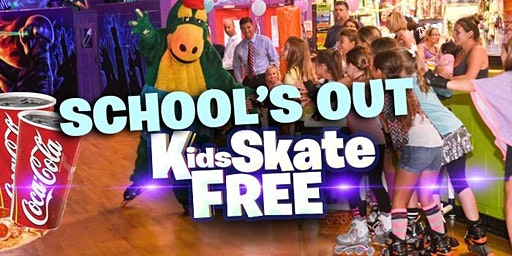 Kids Skate Free Monday 2/17/20 at 11am (with ticket)