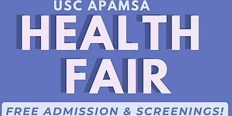USC APAMSA Health Fair tickets