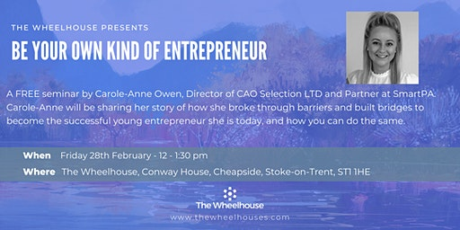 Be Your Own Kind of Entrepreneur - with Carole-Anne Owen