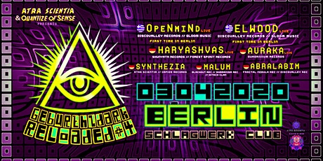 Geburthzdark Reloaded 4 by Quantize of Sense & Atra Scientia Tickets