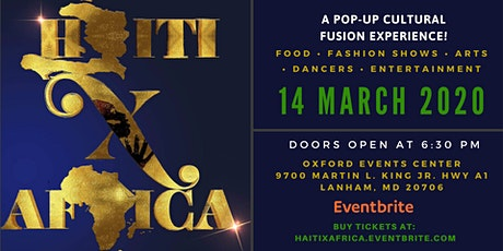 #HaitiXAfrica  tickets