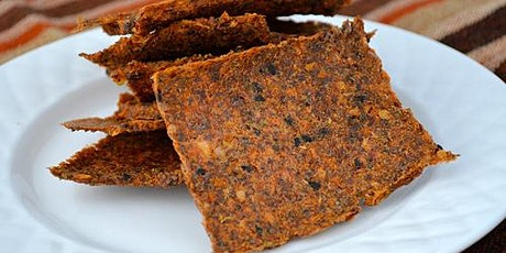 Dehydrated Crackers Food Demo & Lunch tickets