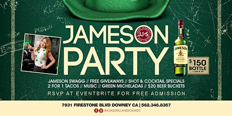Jameson Party - St Patricks Day tickets