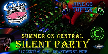 Summer on Central Silent Party tickets