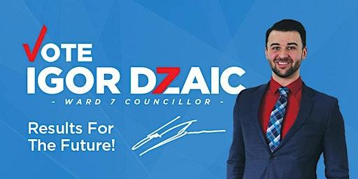 Igor Dzaic Campaign Fundraiser Dinner