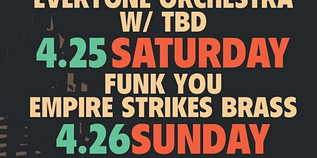 Funk You & Empire Strikes Brass tickets