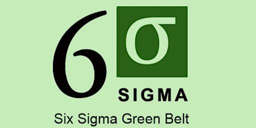 Lean Six Sigma Green Belt (LSSGB) Certification Training in Edmonton