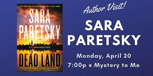 Author Visit: Sara Paretsky