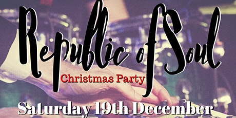 Republic of Soul Christmas Party tickets